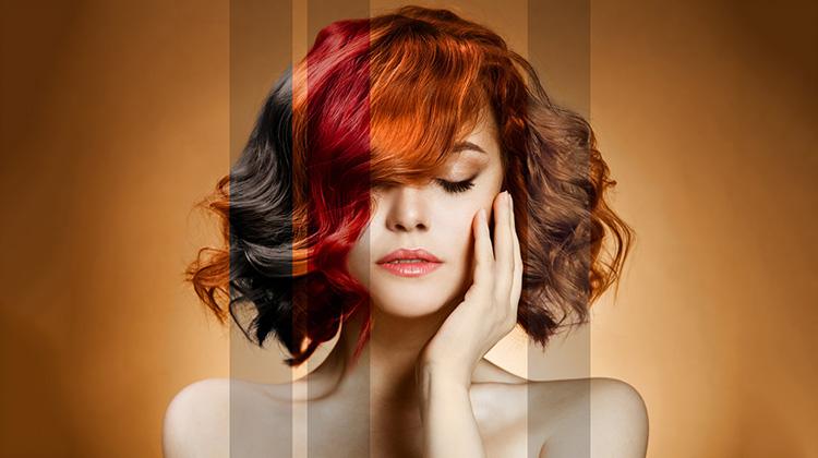 Как покрасить волосы без краски в черный